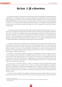 Ba Gua y Biorritmo, Medicina China, Macau